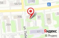Схема проезда до компании Лидер в Иваново