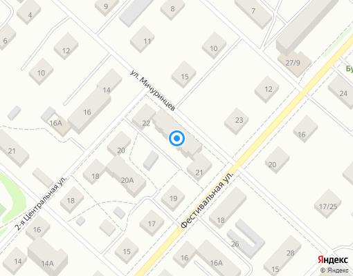 Товарищество собственников жилья «ТСЖ Мичуринцев» на карте Костромы