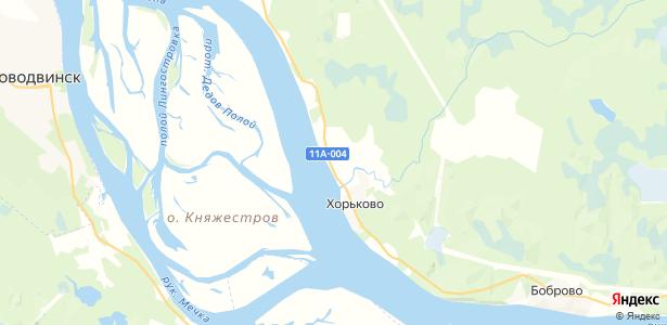 Ершовка на карте