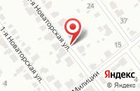 Схема проезда до компании Эрика в Иваново