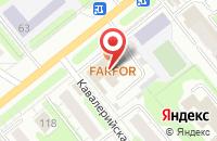 Схема проезда до компании Маяк в Иваново