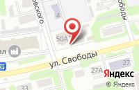 Схема проезда до компании Roll`s в Иваново