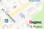 Схема проезда до компании Теремок в Новокубанске