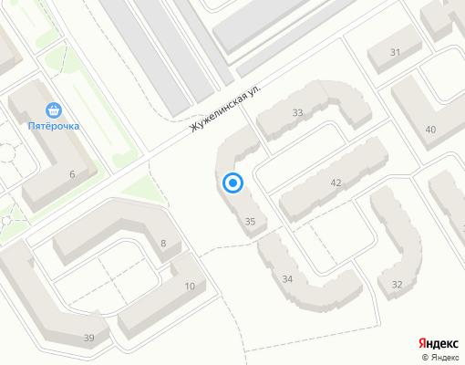Товарищество собственников жилья «Жужелинское» на карте Костромы