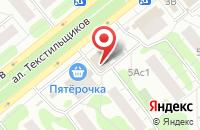 Схема проезда до компании Фирма товаров для рукоделия в Иваново
