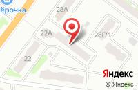 Схема проезда до компании ПВ-ЮГ в Янтарном