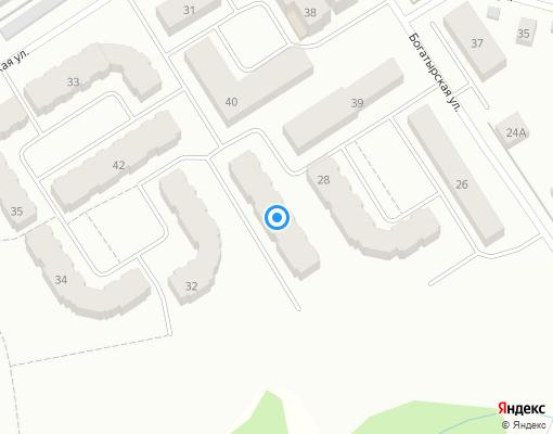 Товарищество собственников жилья «ТСЖ БОГАТЫРЬ» на карте Костромы