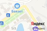 Схема проезда до компании 555 в Новокубанске