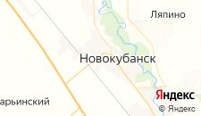 Отели города Новокубанск на карте