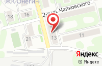 Схема проезда до компании Локон в Иваново