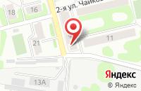 Схема проезда до компании Знание в Иваново