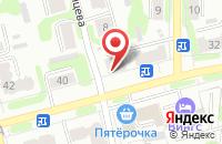 Схема проезда до компании ВитаДент в Иваново