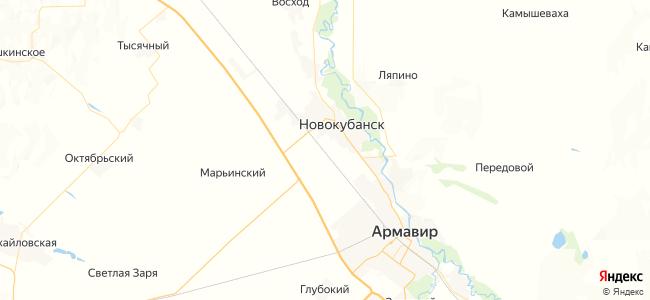 Армавир-2-Туапсинский — Тихорецкая электричка в Новокубанске