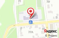 Схема проезда до компании Средняя общеобразовательная школа №42 в Иваново