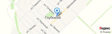 Администрация Новосельского сельского поселения на карте Глубокого
