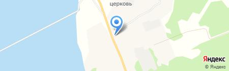 Администрация муниципального образования Лявленское на карте Хорьково