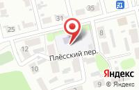 Схема проезда до компании Детский сад №140 в Иваново