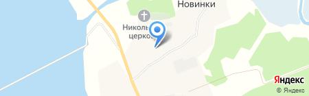 Лявленский сельский Дом культуры на карте Хорьково