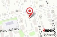 Схема проезда до компании Сеть продовольственных магазинов в Иваново