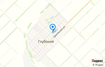 Местоположение на карте пункта техосмотра по адресу Краснодарский край, Новокубанский р-н, п Глубокий, ул Островского, д 7А