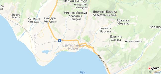 Дома Сухума под-ключ - объекты на карте