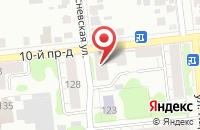 Схема проезда до компании Qiwi в Иваново