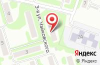Схема проезда до компании АРКТИКА в Иваново