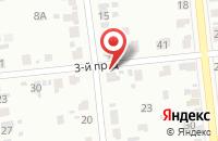 Схема проезда до компании Технотекс в Иваново