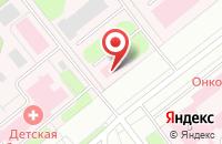 Схема проезда до компании Ивановская областная клиническая больница в Иваново
