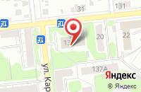 Схема проезда до компании Доминант мебель в Иваново