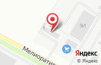 Схема проезда до компании Калининградское предприятие по племенной работе в Малом Исаково