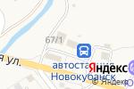 Схема проезда до компании Магазин-мастерская художественной ковки в Новокубанске