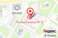 Схема проезда до компании Городская поликлиника №6 в Иваново