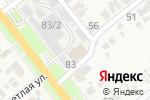 Схема проезда до компании Рай в Новокубанске