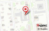 Схема проезда до компании Авангард в Иваново
