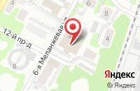 Схема проезда до компании Форвард-плюс в Иваново