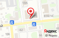 Схема проезда до компании Газпром газораспределение Иваново в Иваново