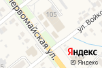 Схема проезда до компании Восточная кубань в Новокубанске