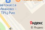 Схема проезда до компании Мадонна в Иваново
