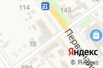 Схема проезда до компании 1000 МЕЛОЧЕЙ в Новокубанске