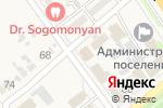 Схема проезда до компании Золотой лотос в Новокубанске