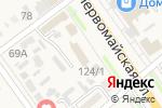 Схема проезда до компании Управление социальной защиты населения в Новокубанске