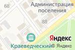 Схема проезда до компании Kreatiff в Новокубанске