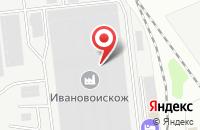 Схема проезда до компании ПолиХимТекс в Иваново