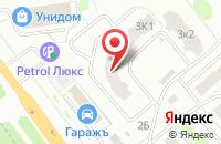 Схема проезда до компании ГАРАЖЪ в Иваново