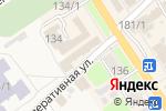 Схема проезда до компании Правовой консультант в Новокубанске