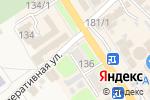 Схема проезда до компании Мегафон в Новокубанске