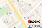Схема проезда до компании Цветочный рай в Новокубанске