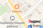 Схема проезда до компании Любимое Буше в Новокубанске