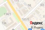 Схема проезда до компании Центрофинанс Групп в Новокубанске